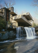 Photo of Frank Lloyd Wright's Fallingwater