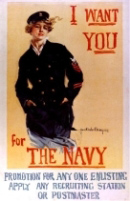 Navy Recruiting Poster, 1917